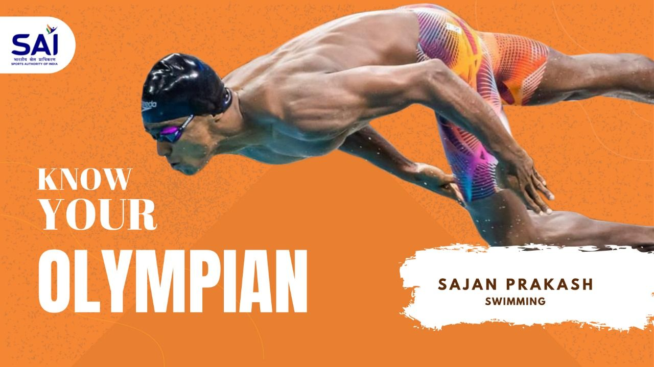 Sajan will represent India in the men's 200m Butterfly event in Tokyo Olympics.
